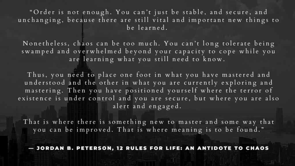 jordan b peterson quote