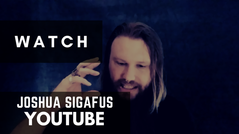 Joshua Sigafus YouTube button 2