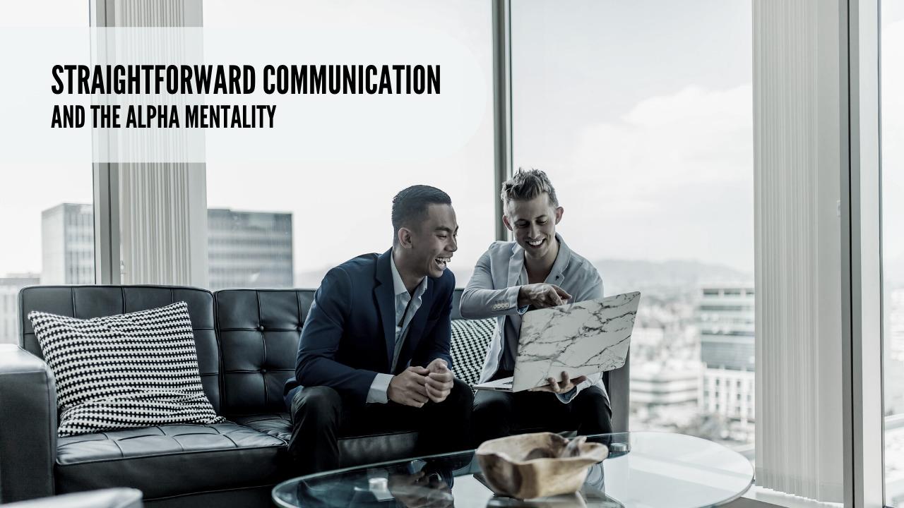 straightforward communication