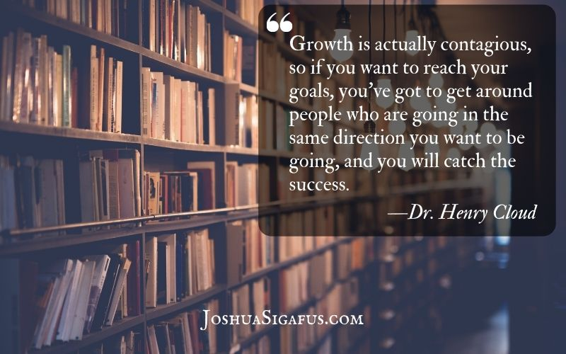Growth is actually contagious
