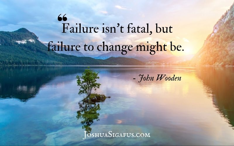failure isn't fatal