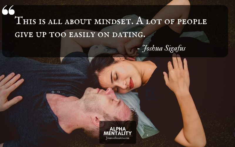 1. Commit To Making Dating A Priority